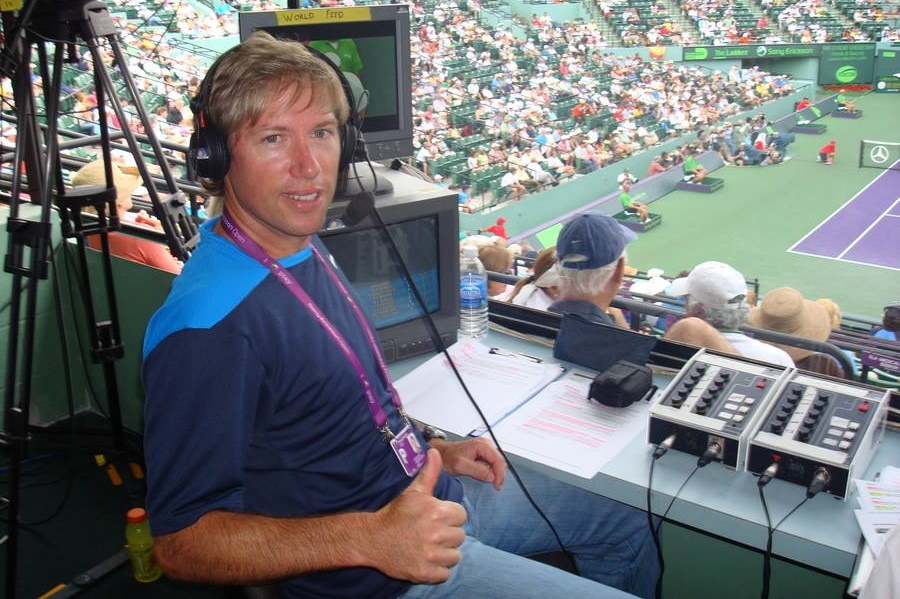 From Westville to the world, leading tennis commentator Robbie Koenig